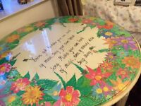 Unique Hand-painted Beautiful Table