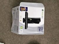 X Box 360 Kinect Special Edition 250 GB Go with 14 games and Kinect Sensor