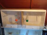 Bird cages for breeding. Ideal for small birds