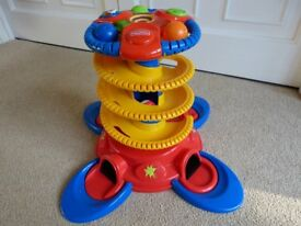 Fisher Price Helter Skelter Pre-School toy with sound and lights exc cond