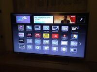 "Panasonic 40"" 4k ultra hd smart 3D tv"