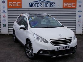 Peugeot 2008 (E-HDI FELINE MISTRAL) FREE MOT'S AS LONG AS YOU OWN THE CAR!!! (white) 2014