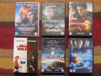 7 DVDs Recent releases Aftermath / Independence Day / Jack Reacher / Deepwater Horizon