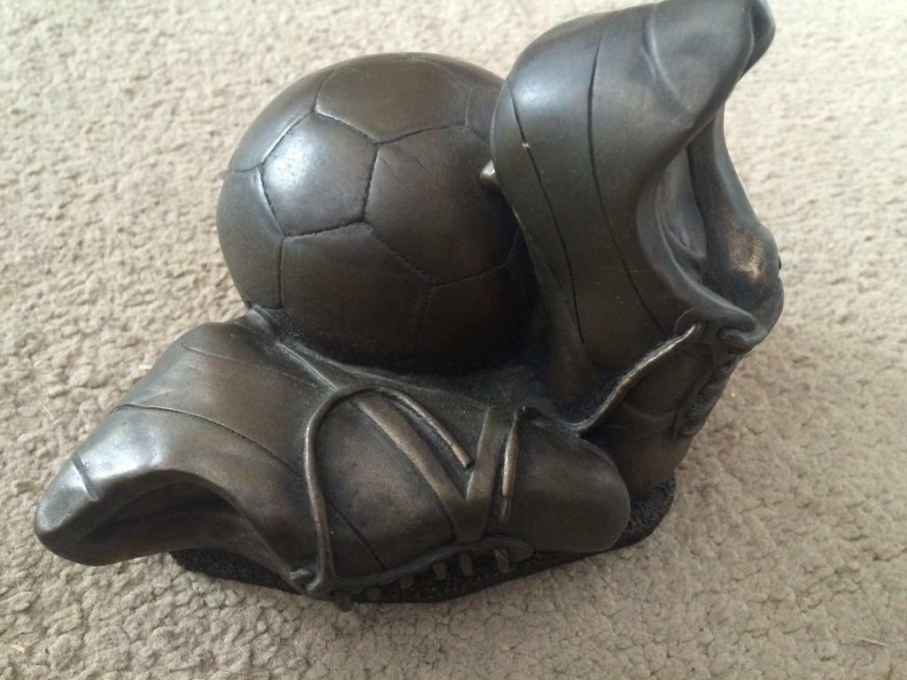 Football ornament/trophyin Welling, LondonGumtree - Football ornament/trophy in good condition ideal for football lovers or giving as a trophy for best player etc