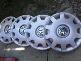 Vw golf wheel trim x4 , 14 inch