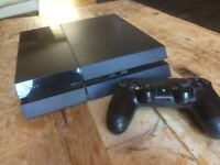Playstation 4 (PS4) w/ Controller, Capture Card & 2 COD Games (card not included in price)