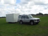 Land Rover Discovery TD5 2003 & Box Trailer