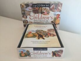 Children's Spectacular CD Collection, Stories,Songs, Nursery Rhymes, 24CD Set