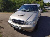2006 Kia Sedona 2.9 diesel 1 year Mot