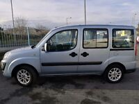 Fiat Doblo 2010 wheelchair accessible 36000 miles built in ramp disabled car van