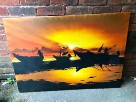 Thailand Sunset Painting