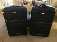2 Large Soft Suitcases