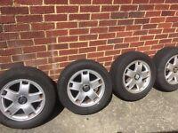 "15"" alloy wheels Seat Leon/Ibiza"