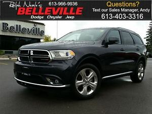 2015 Dodge Durango Limited-Sunroof-dvd