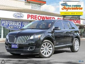 2015 Lincoln MKX LIMITED***Sight & Sound package***