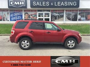 2012 Ford Escape XLT ALLOYS PWR-GROUP *CERTIFIED*
