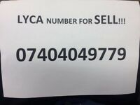 Number for sell (07404049779) NEW.
