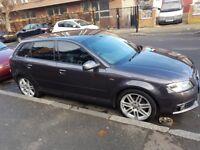 Audi a3 metallic grey