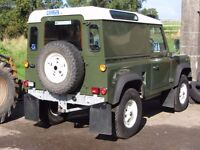 Land Rover Defender Galvanized chassis