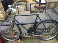 Raleigh vintage bike