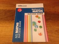 National 5 study books, excellent tools for upcoming exams