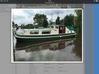 Superb Dutch Barge for sale