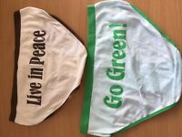2 pairs knickers brand new size 16-18