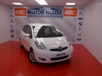Toyota Yaris T SPIRIT MM VVT-I (AUTOMATIC) FREE MOT'S AS LONG AS YOU OWN THE CAR!!! (white) 2011