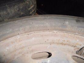 VW GOLF MK4 175/80 R14 inch 4 steel wheels 5 STUD