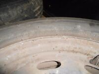 VW GOLF MK4 175/80 R14 inch 4 steel wheels 5 STUD