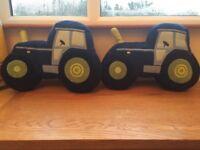 Tractor cushions x 2
