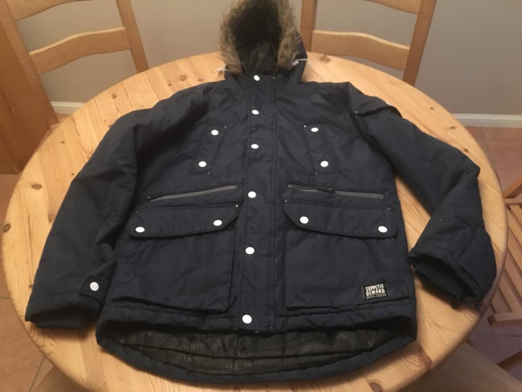 Boys Supply & Demand Parka Jacket