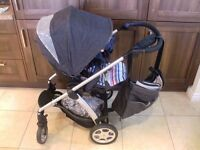 Mamas & Papas Sola Denim pushchair / stoller / pram
