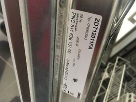 Zanussi integrated dishwasher ZDT12011FA for parts or scrap