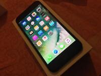 IPHONE 7 plus 32gb Black brand new o2 Mint