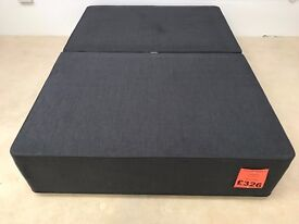 Clearance Double Divan Base - 2 Drawers