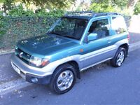 2001 MITSUBISHI PININ 1.8 PETROL rare 3 door AUTOMATIC with VERY LOW MILEAGE moted & taxed