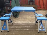 4 seater camping table