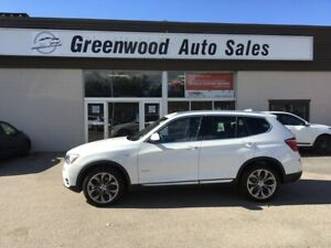 2015 BMW X3 xDrive28i BACKUP CAM, LEATHER, HUGE PANO ROOF