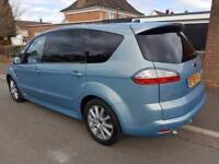 '59' Ford S-Max 2.0 Tdci Titanium Added Sport pack 7 Seater Mpv Full Ford History SatNav Glass roof