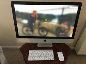 Apple iMac 27 inch Quad Core 3.4GHz i7, 32GB RAM, 1TB SSD + 2TB HDD, 2GB Graphics