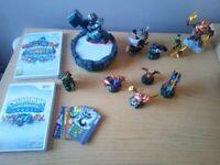 Wii Skylanders x 2 plus 10 characters