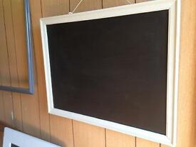 Handmade Chalkboard in soft grey shabby chic