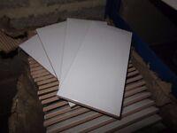 White Metro Tiles - eliane - Made in Brazil - 100mm x 200m x 8mm - 125+ tiles