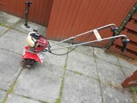 Mantis Tiller - Four Stroke Honda engine - with lots of extras