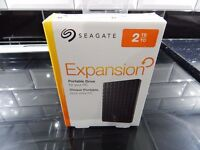 2TB Seagate Expansion Boxed.