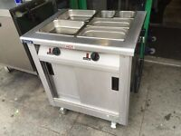 CATERING COMMERCIAL BAIN MARIE HOT CUPBOARD CAFE KEBAB PIZZA RESTAURANT KITCHEN FAST FOOD BAR