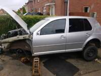 Breaking for spares. Vw golf mk4 pd130 tdi