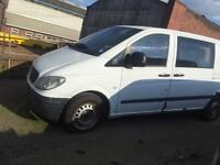 Mercedes Vito 111cdi engine gearbox and clutch working good