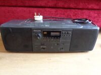Philips Portable Stereo/CD Player/Boombox